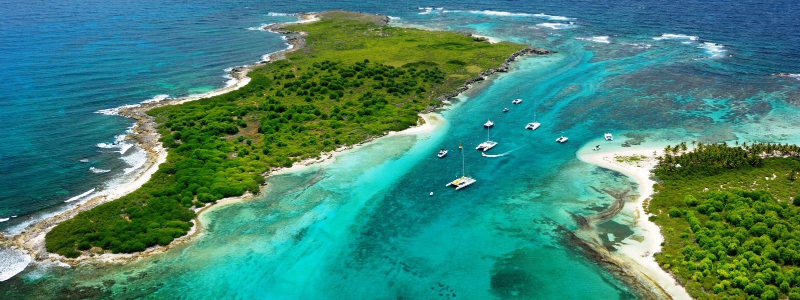 guadeloupe.Гваделупа - остров в форме бабочки. Отдых на пляжах Индии