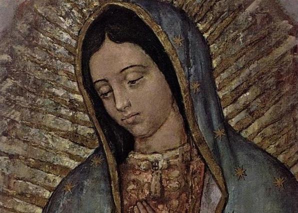 Икона Девы Марии Гваделупской